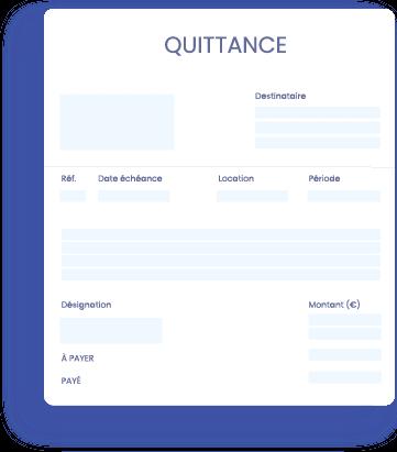 loyer-quittance- InfoSCI | Logiciel en ligne de gestion locative immobilière comptabilité SCI