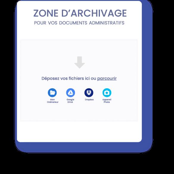 zone-archivage- InfoSCI | Logiciel en ligne de gestion locative immobilière comptabilité SCI